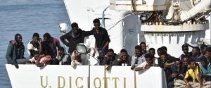 Migranti sulla Diciotti