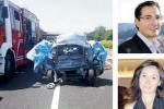 Incidente sull'A1, famiglia calabrese distrutta
