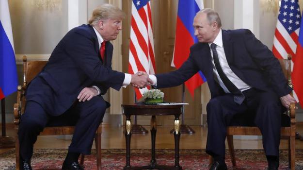 rapporti Trump Putin, russiagate, usa, Donald Trump, Vladimir Putin, Sicilia, Mondo