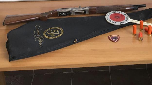 Cristian Vadalà, Detenzione illegale di arma, ricettazione, Messina, Archivio