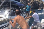 Barca a vela rischia affondare a Panarea