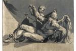 Chiaroscuro lt LACMA : Niccol Vicentino, after Pordenone, Saturn,
