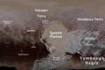 Il poeta Virgilio tra i nomi scelti per battezzare le strutture geologiche che disegnano Plutone (fonte: NASA/JHUAPL/SwRI/Ross Beyer)