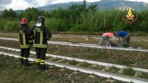 catanzaro, giovane travolto treno, gizzeria, Catanzaro, Calabria, Archivio
