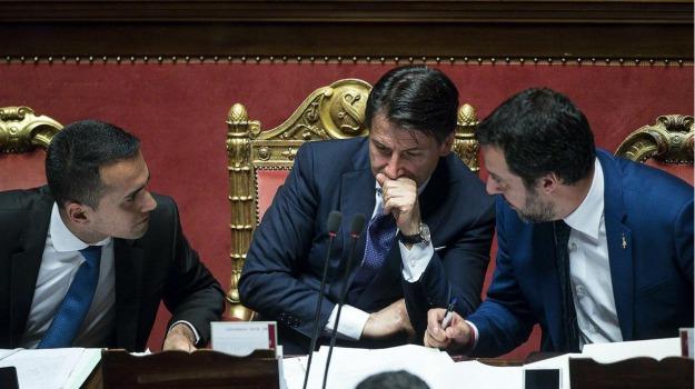 conte, di maio, governo, lega, m5s, salvini, Sicilia, Archivio