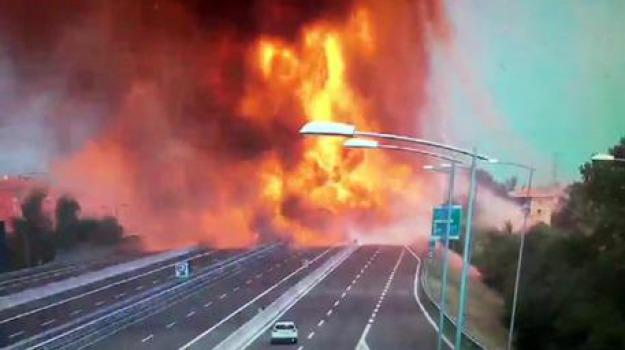 autostrada Bologna, riaperta, Sicilia, Cronaca