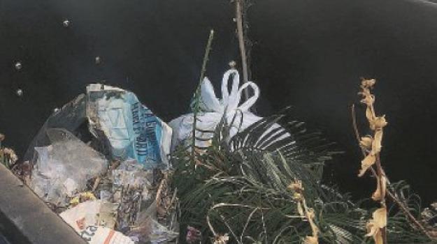 cimitero, reggio, rifiuti, Reggio, Calabria, Archivio