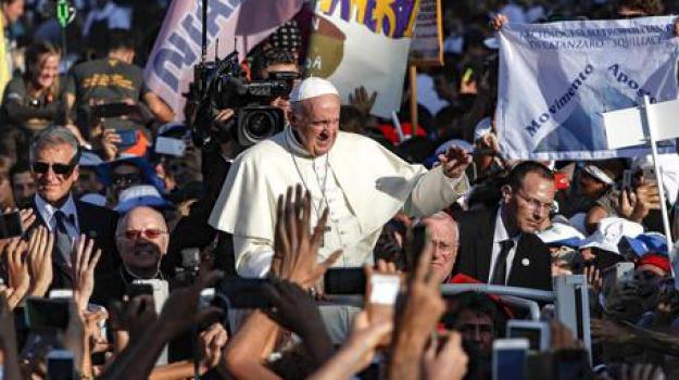 giornata giovani, no cultura morte, papa francesco, Sicilia, Cronaca