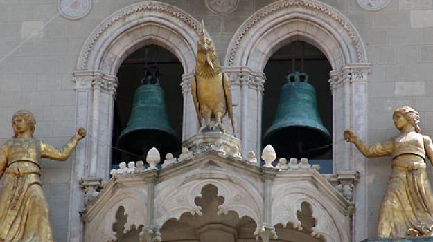 campanile duomo, messina, visite notturne, Messina, Sicilia, Archivio