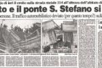 """Quando a Messina crollò un ponte """"targato"""" Morandi"""