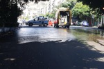 Strada scivolosa, chiusa per ore la via T. Cannizzaro