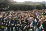 Il commosso saluto della Calabria all'eroe di Rigopiano