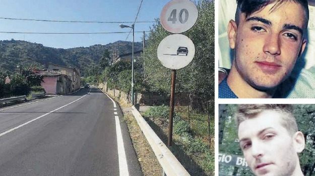 fratelli siracusa, incidente mortale, motta camastra, Messina, Sicilia, Archivio
