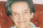"""La """"signora maestra"""" si è spenta a 107 anni"""