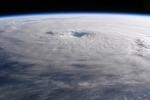 L'uragano Maria fotografato dall'astronauta Paolo Nespoli (fonte: P. Nespoli/ASI-ESA-NASA)