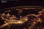 Un'immagine tratta dal test di geograia proposto da AstroPaolo (donte: Paolo Nespoli, ESA, NASA)