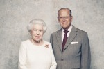 La Regina Elisabetta II e il Principe Filippo di Edimburgo ritratti nel 70 ° anniversario di matrimonio 20 novembre 2017. Foto Matt Holyoak