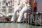 Due nuove opere Lorenzo Quinn a Venezia