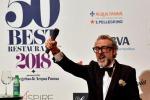 Massimo Bottura è al primo posto dei 50 Best Restaurant