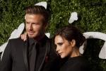 David Beckham con la moglie stilista ex cantante Victoria Beckham