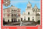 Viaggio Soverato, Grammichele, Grado e Pineto in francobollo