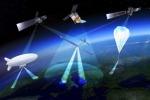 I droni imitano i satelliti per osservare la Terra (fonte: ESA Earth Observation Graphics Bureau)