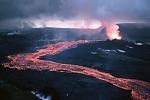 L'eruzione del vulcano Krafla nel nord dell'Islanda nel 1984 (fonte: Michael Ryan, U.S. Geological Survey)