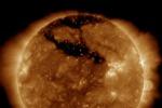 Il Sole in attività, fotografato dall'osservatorio Sdo della Nasa (fonte: SDO/NASA)