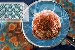 Un'iperlente è in grado di ottenere immagini di organismi piccolissimi, come virus sulla superficie di una cellula (fonte: Keith Wood, Vanderbilt University)