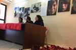 Violenza donne: le scarpe rosse di Zapatos Rojos a Cagliari