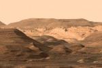 Un tappeto ispirato a Marte, nella mostra Red Hope (fonte: Leonardo Petrucci)