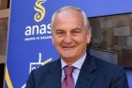 Ennio Cascetta, presidente Anas, all'inaugurazione degli Innovation Days organizzati da Anas in occasione dell'ultima tappa del roadshow #Congiunzioni