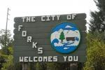 Forks, nello Stato di Washington, citt di Twilight (Foto: Ewen Roberts)