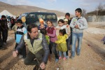 Fotografica di Convertini su bimbi Siria