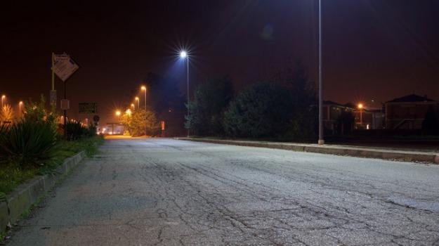 Illuminazione pubblica Messina, Libero Gioveni, Messina, Sicilia, Cronaca