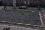Pompei: inciampa e fa cadere colonna