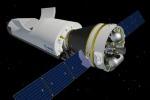 Rappresentazione grafica dello Space Rider, il veicolo europeo di rientro a Terra e riutilizzabile basato su tecnologia italiana (fonte: ESA)