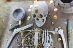 Tornano all'antico splendore in laboratorio i gioielli preistorici della necropoli bulgara di Varna (fonte E. Pernicka)