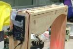 L'arpa 2.0, corde fatte con raggi laser