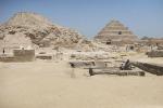 La necropoli di Saqqara, a sud del Cairo