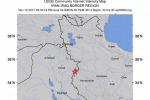 Localizzazione del terremoto di magnitudo 7,2 avvenuto in Iran (fonte: USGS)