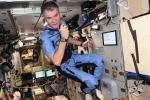 Paolo Nespoli a bordo della Stazione Spaziale Internazionale durante la missione Vita (fonti: ESA, NASA)