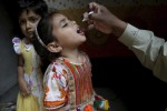 Una campagna vaccinale contro la Polio in Pakistan