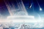 Una ricostruzione artistica dell'impatto dell'asteroide avvenuto 66 milioni di anni fa in Messico (fonte: Donald E. Davis)