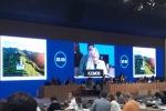 Un momento del negoziato internazionale nell'ambito della 42/a sessione del World Heritage Committee (Whc) dell'Unesco in corso a Manama (Bahrain)