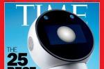 Il robot da compagnia Jibo ha conquistato la copertina di Time (fonte: Sebastian Mader/TIME)
