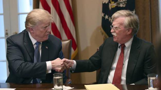 impeachment, usa, Donald Trump, john bolton, Sicilia, Mondo