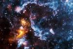 Le pulsar, ossia le stelle di neutroni come quella nell'immagine, si ritenevano essere la fonte delle particelle di antimateria opposte agli elettroni (fonte: NASA/CXC/SAO; NASA/JPL-Caltech)