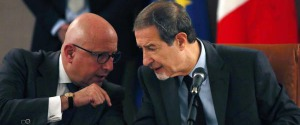 Gaetano Armao e Nello Musumeci