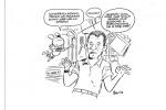 Il noto fumettista Leo Ortolani ha dedicato a Nespoli una divertente vignetta di Rat-Man (fonte: Leo Ortolani/Panini)
